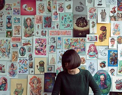 Курские художники представили свои работы на региональной выставке «Настроение»