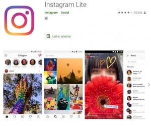 Facebook представила новое приложение Instagram Lite с меньшим количеством функций