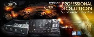 Состоялся анонс материнской платы для майнинга Biostar TB360-BTC D +