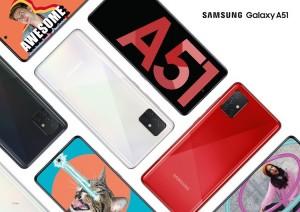Samsung Galaxy A51 стал самым продаваемым смартфоном года в России