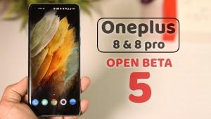OxygenOS Open Beta 5 запущена на смартфонах серии OnePlus 8