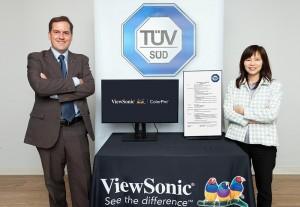 ViewSonic тестирует технологию цветовой слепоты совместно с организацией TÜV SÜD