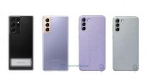 Смартфон Samsung Galaxy S21 показали на новых рендерах