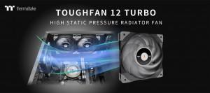 Thermaltake представила вентилятор Toughfan 12 Turbo с высоким статическим давлением