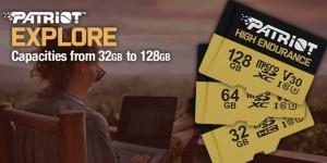 Patriot Memory выпустила карты памяти High Endurance SDXC