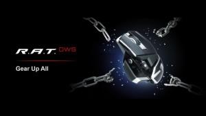 Беспроводная мышь Mad Catz RAT DWS оснащена оптическим датчиком PixArt PAW3335DB