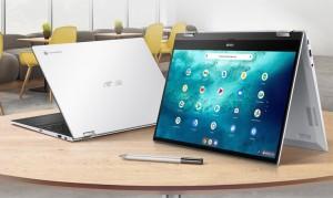 Представлен ноутбук-трансформер ASUS Chromebook Flip CX5
