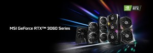 MSI показала видеокарты серии GeForce RTX 3060