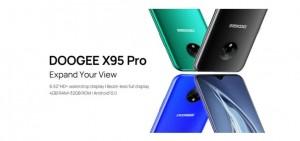 Выпуск DOOGEE X95 Pro назначен на 15 января