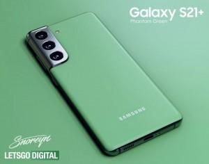 Samsung Galaxy S21 + Phantom Green засветился на австралийском сайте Samsung