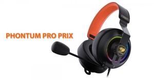 Cougar представила игровую гарнитуру Phontum Pro Prix