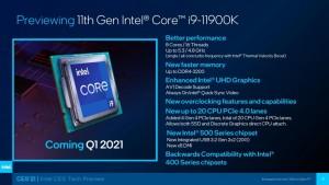 Intel Core i9-11900K возглавил одноядерный рейтинг в PassMark