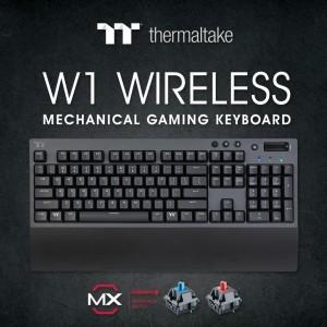 Thermaltake выпустила беспроводную клавиатуру W1 Wireless