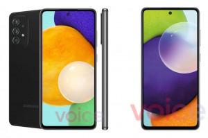 Samsung Galaxy A52 5G и A72 получат дисплее с частотой обновления до 120 Гц