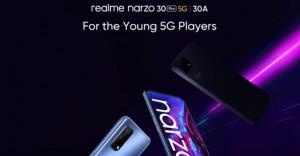realme Narzo 30A получил официальную дату релиза
