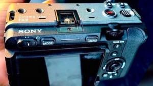 Камеру Sony FX3 представят 23 февраля