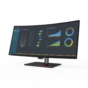 Lenovo представила профессиональный монитор ThinkStation P40w-20