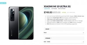 Xiaomi Mi 10 Ultra 5G продают за 749 долларов