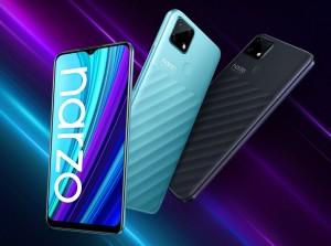 Realme Narzo 30A с АКБ на 6000 мАч появился в продаже