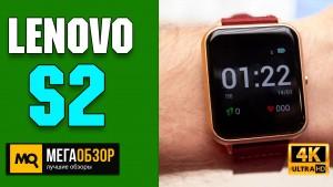 Обзор Lenovo S2. Умные часы в влагозащищенном корпусе