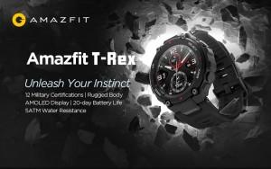 Стали известны цены на Amazfit T-Rex Pro