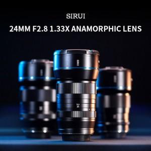 Объектив Sirui 24mm F/2.8 1.33x теперь и для байонетов RF и L
