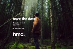 HMD Global запланировано мероприятие на 8 апреля