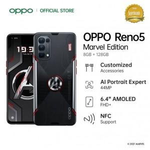OPPO Reno5 Marvel Edition стал официальным в Индонезии