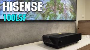 Обзор Hisense 100L5F 100' (2020). Настоящий домашний кинотеатр у вас дома.