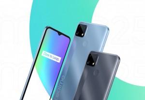 Realme C25 с батареей на 6000 мАч оценен в $150