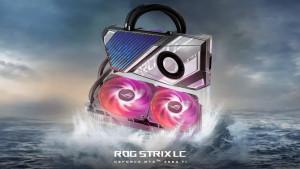 ASUS представила видеокарты RTX 3080 Ti ROG Strix LC с гибридным охлаждением