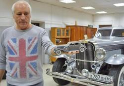 Инженер из Аткарска собрал в гараже копию машины Аль Капоне