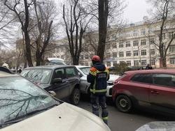 На Рахова столкнулись 9 автомобилей