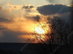Солнце спрячется за облаками
