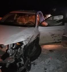В тройном ДТП на трассе с участием 'КАМАЗа' пострадал человек