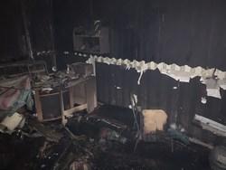 На ночном пожаре погибла женщина