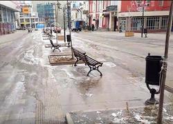 Горожане: улица Волжская превращается в каток