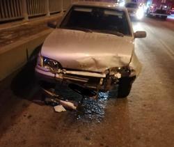 В тройном ДТП на мосту через Волгу пострадали два человека