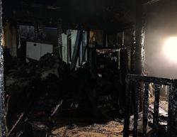 Саратовец не смог спасти мать во время пожара