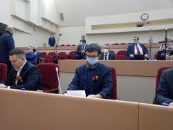 Чернышевский сложил полномочия депутата облдумы