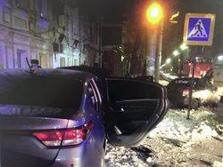 В ночном ДТП в центре Саратова пострадали две женщины