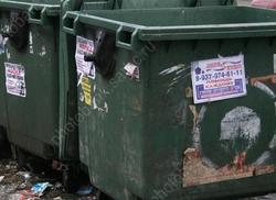 Из-за снега не могут вывезти мусор более чем с 400 площадок