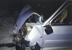Нарушение ПДД оказалось смертельным для водителя 'Приоры'