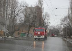 Из девятиэтажки эвакуировали жильцов из-за пожара