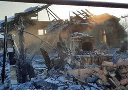 В сгоревшем дотла доме нашли погибшего пенсионера