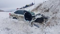 В массовой аварии погиб мужчина