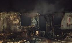 В сгоревшей сторожке найден труп