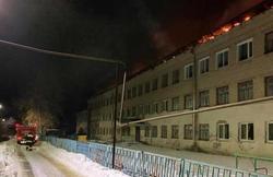 После пожара в школе возбуждено уголовное дело