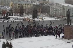 После акции в поддержку Навального составлено около 30 протоколов