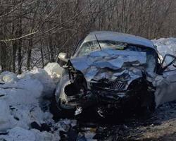 В столкновении 'Волги' и 'Чери' погибли три человека, пострадали женщина и трое детей